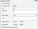 YouTube Upload wizard