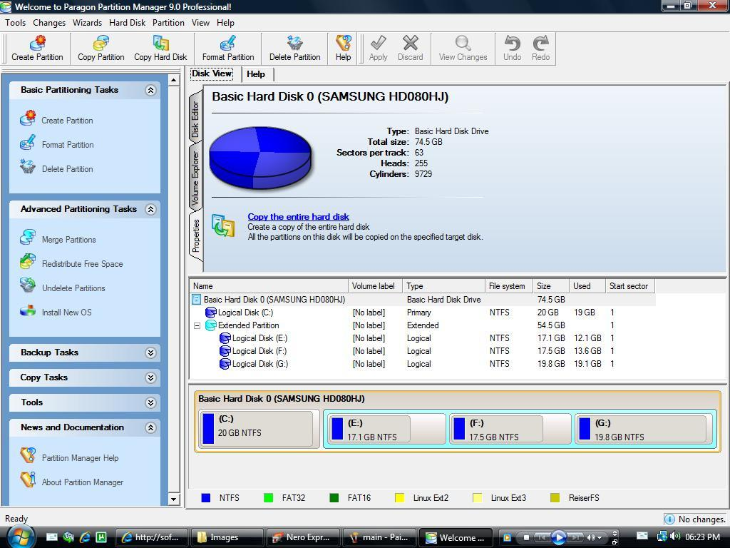 Advanced Partitioning