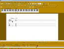Creating music with the keyboard interface