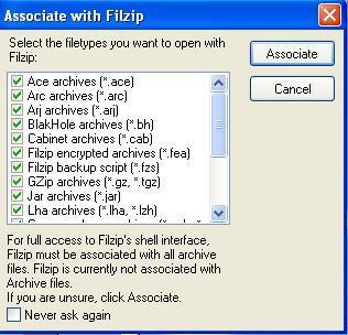 Asocciate with Filzip
