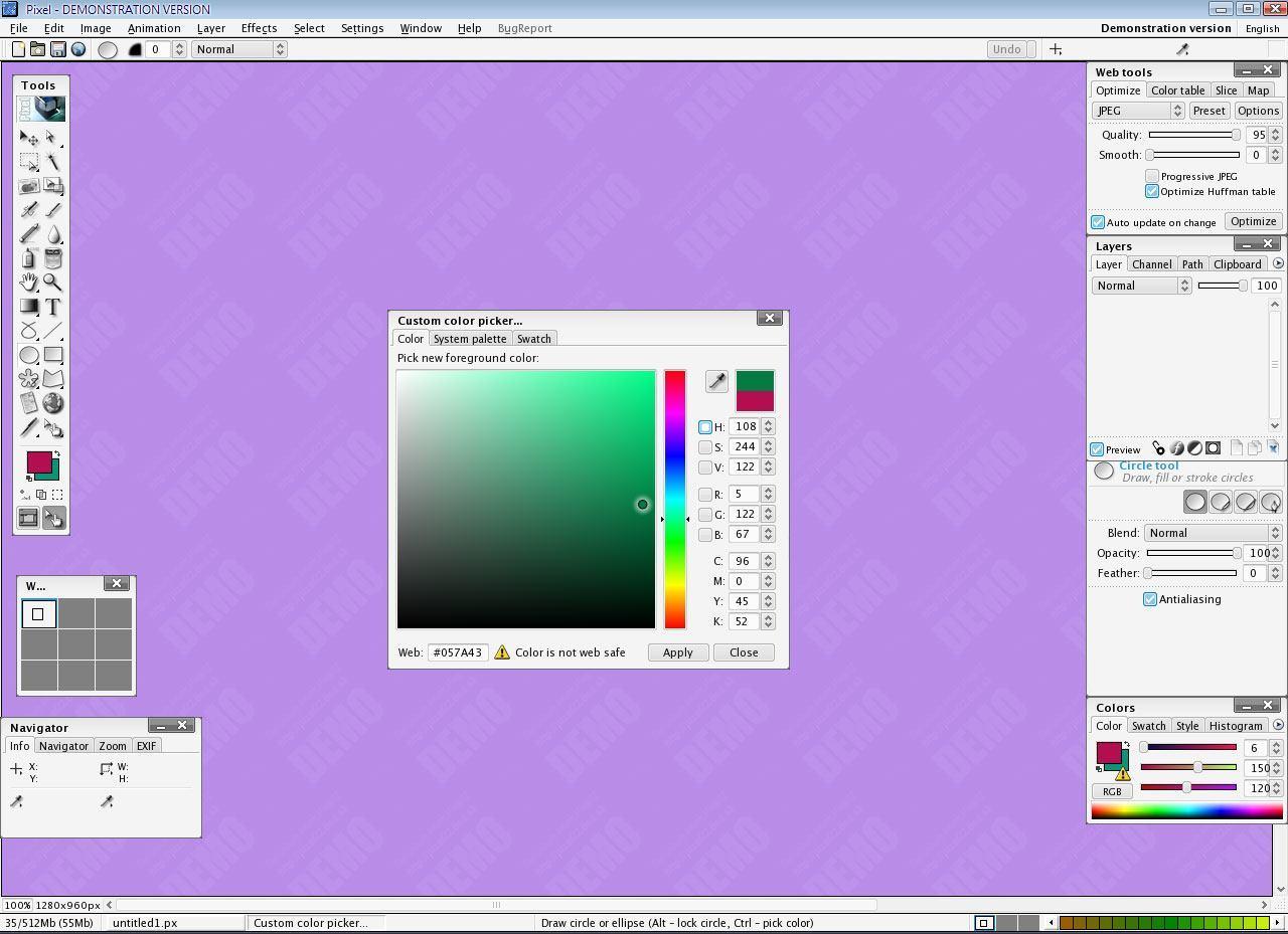 Custom Color Picker