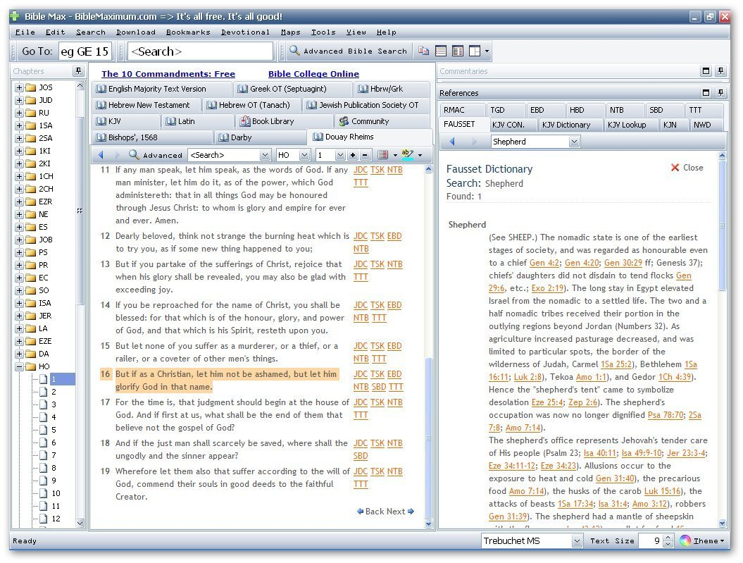 Fausset's Bible Dictionary-Example 3