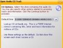 Open Audio CD track