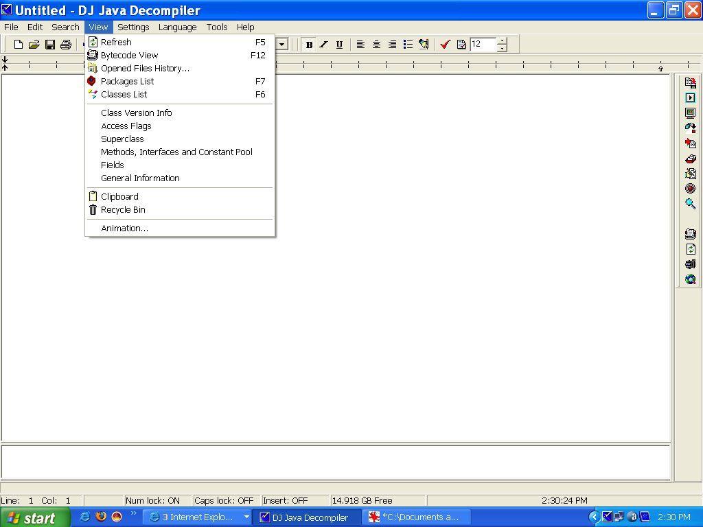 DJ Java Decompiler - View