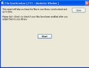 File Synchronizer Window