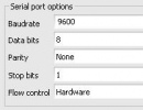 Serial Port Options