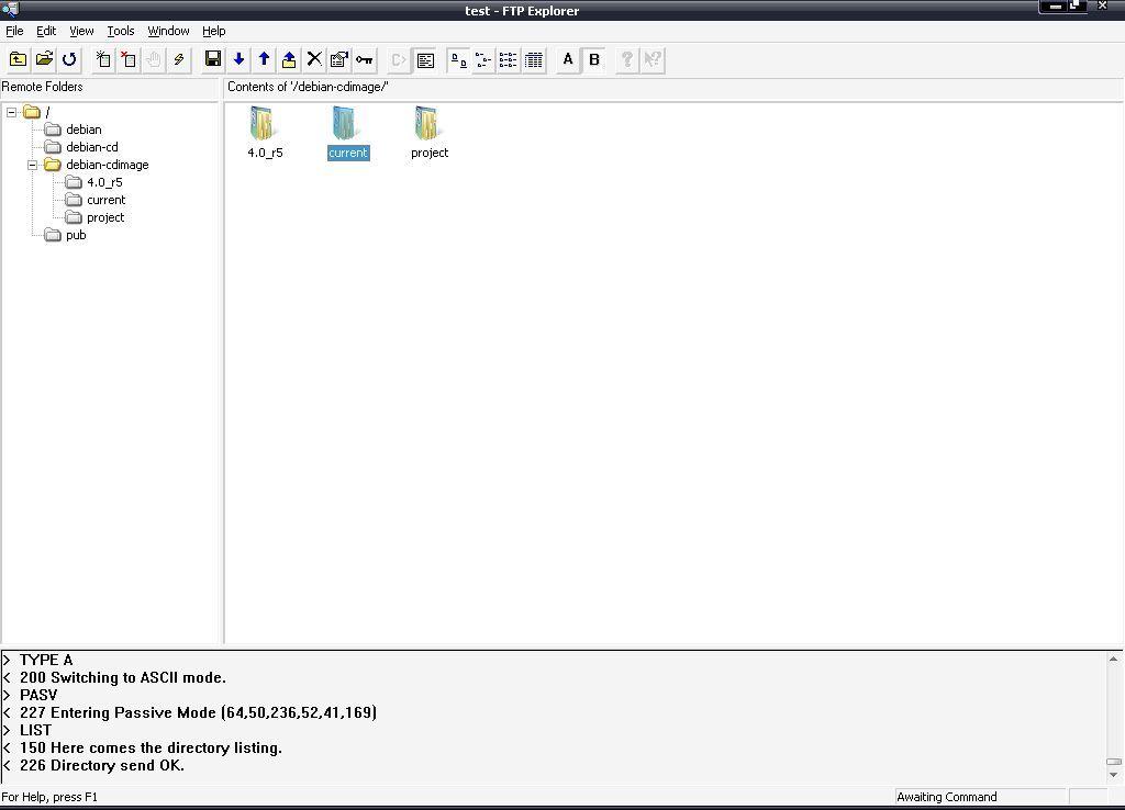 Browsing remote files