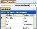 Object Properties Window