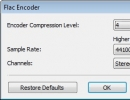 Encoder Settings