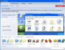 Main Window to select icon package.