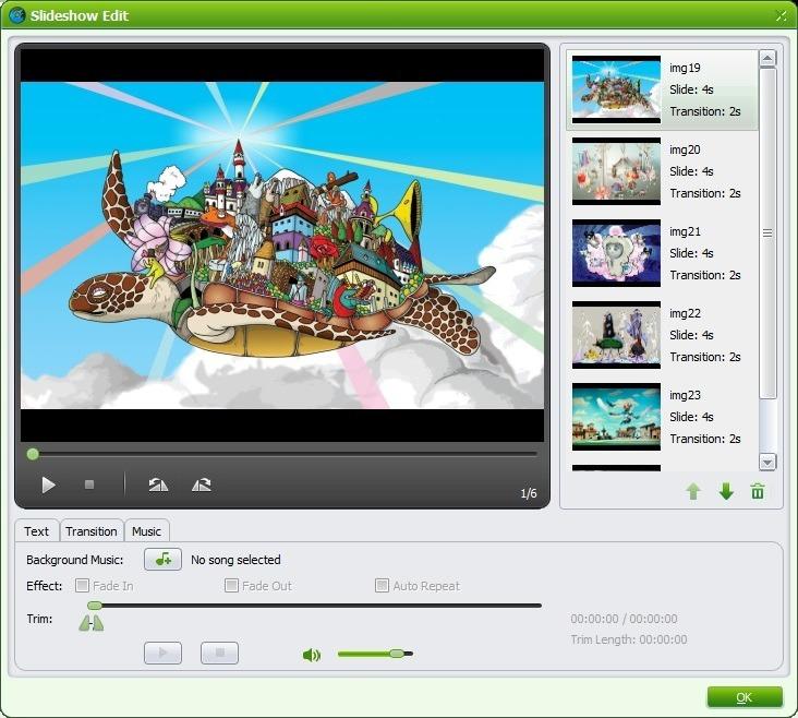 Slideshow Editor