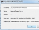 Importing file