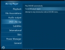 DVD/Blu-ray Settings