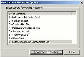 Camera Properties