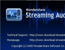 About Wondershare Streaming Audio Recorder