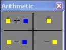Arithmetic Palette