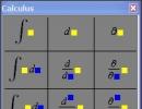 Calculus Palette