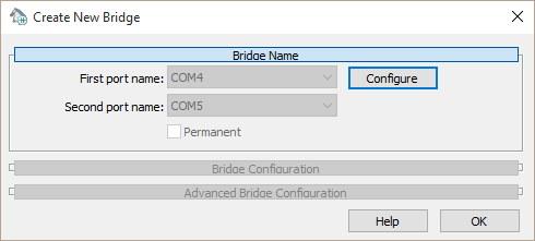 Creating New Bridge