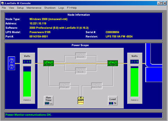 Main Interface