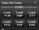 File Format Selection