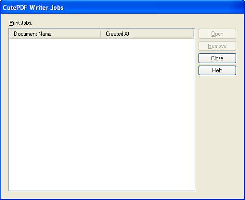 Writer Jobs Screen