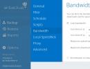 Bandwidth Options