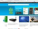 Baidu Browser Main window