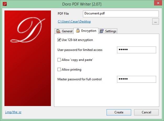 Encryption Configuration
