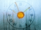 7art Rainy Clock © 7art-screensavers.com