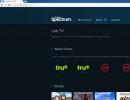 Live TV on Chrome Browser