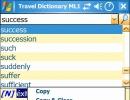 Travel dictionary