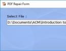 PDF Repair