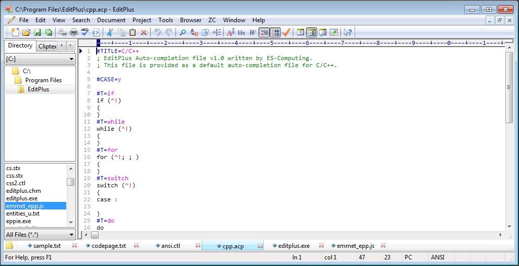 C++ Script Edition
