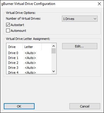 Configurations Window