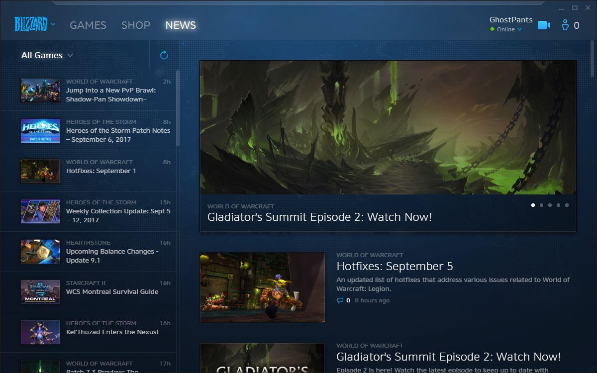 News Window