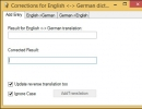 English - German Dictionary Editor