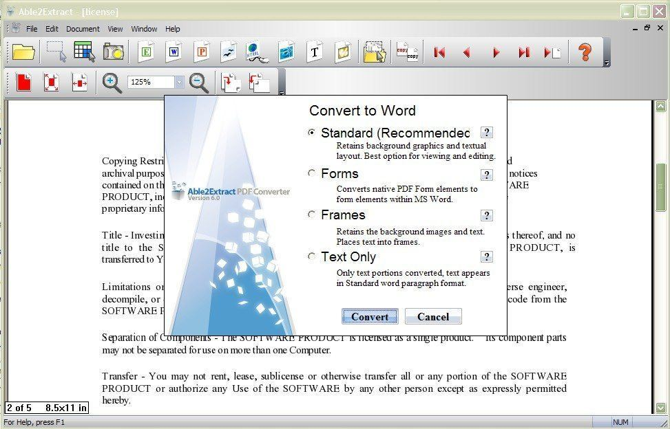 Converto to Word