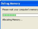 Memory Defragmenter