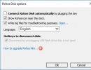Disk Options