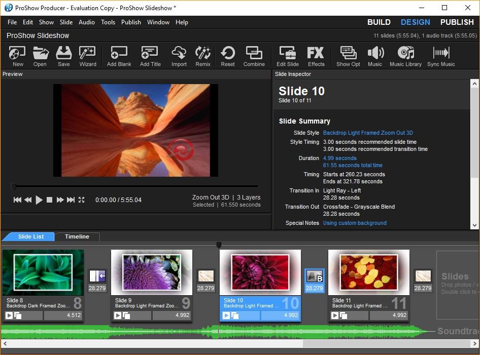Design Slideshow