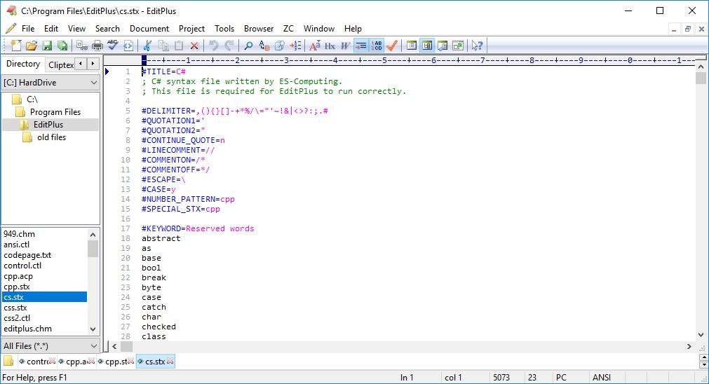 Edit Text File