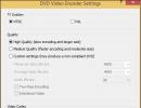 DVD Video Encoder Settings