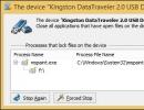 Blocked Device Dialog