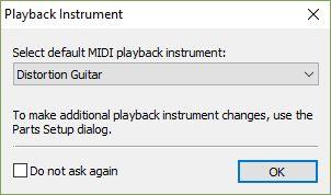 Playback instrument