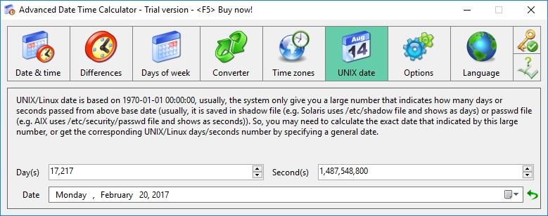 UNIX Date