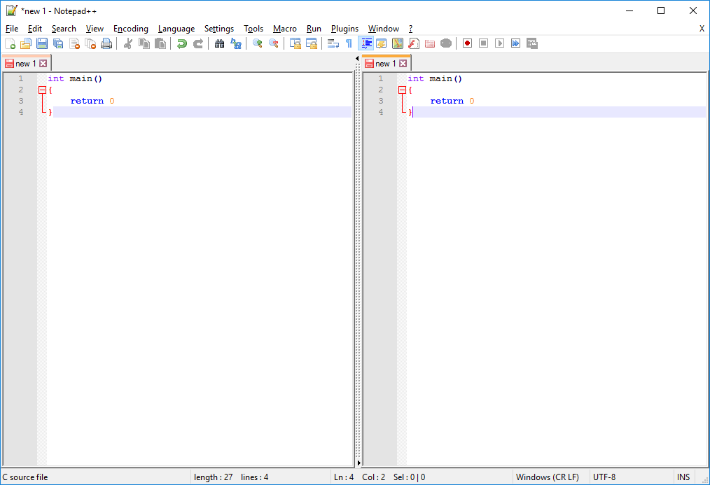 Multiview into a file