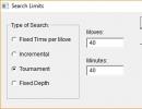 Search Limits