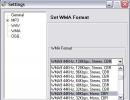 WMA settings