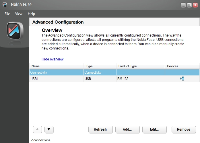 Fuse - Connection Manager
