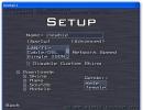 Multiplayer setup screen